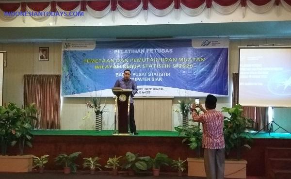 BPS Kabupaten Siak Adakan Pelatihan Pemetaan dan Pemutakhiran Muatan Wilkerstat