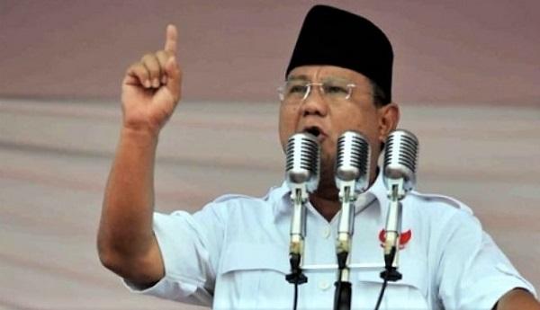 12 April, Prabowo Akan Sampaikan Pidato Kebangsaan di Surabaya