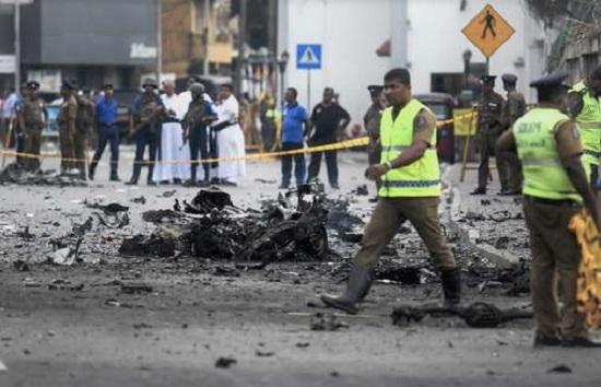 Pelaku Bom Sri Lanka Terekam CCTV