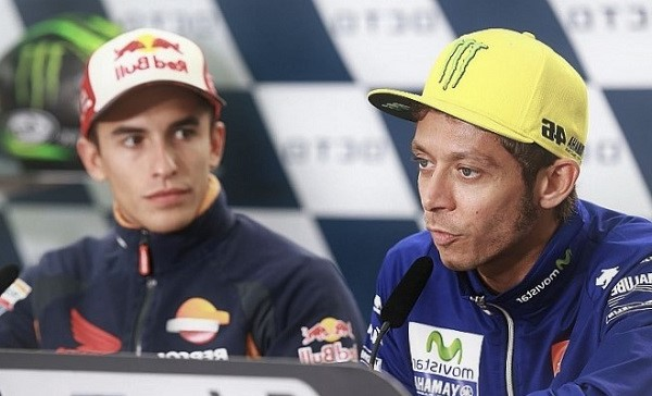 Nasihat Rossi Untuk Marc Marquez