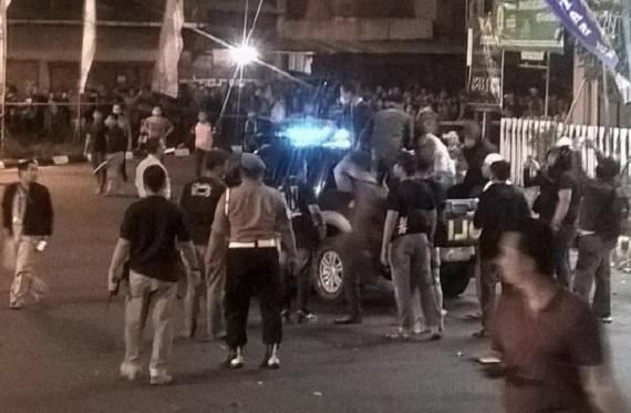 Aksi Bom Bunuh Diri di Pos Polisi Kartosuro