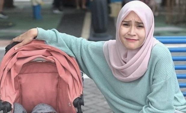 Kesedihan Zaskia Mecca Menyambut Idul Fitri