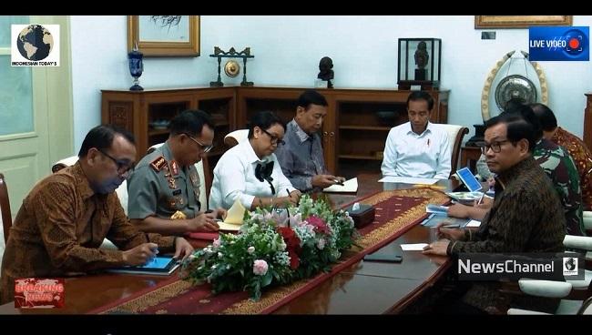 [VIDEO] Rapat Terbatas Terkait Kondisi Keamanan Papua Terkini