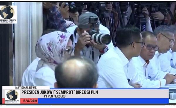 Jadi Viral..! Video Jokowi Ngamuk di Kantor PLN