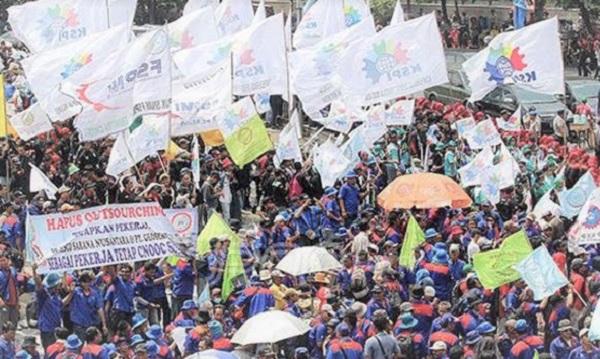 Demo Buruh 2 Oktober