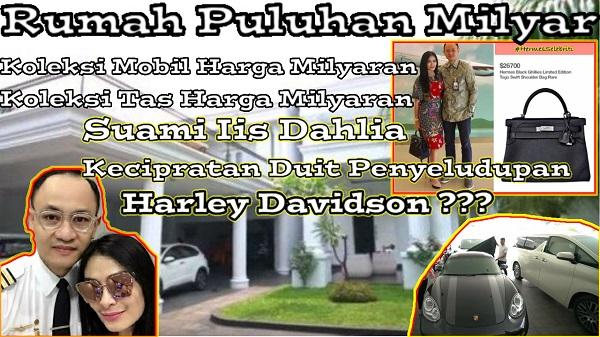 Puteri Novita Ramli dan Suami Iis Dahlia
