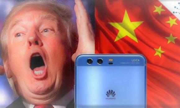 Donal Trump Huawei