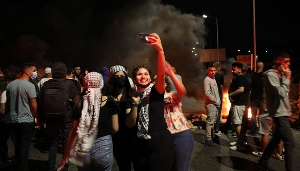 tiktok Israeli-Palestinian